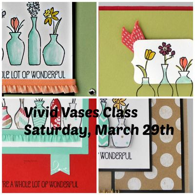 Vivid Vases Collage