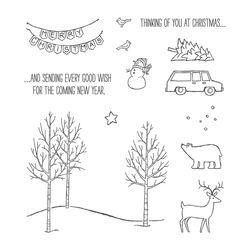 Whitechristmasstampset