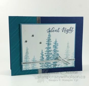 Silent Night Ellie Christmas Card