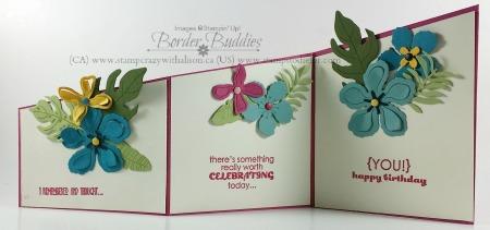 Botanical Blooms Photopolymer Stamp Set Botanical Builder Framelits Die www.stampcrazywithalison.ca