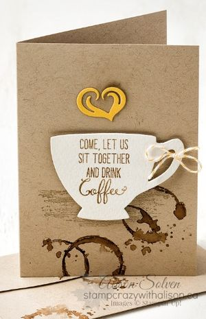 Timeless Textures Stamp Set, A Nice Cuppa Stamp Set, www.stampcrazywithalison.ca