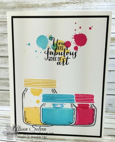 Jar Of Love Stamp Set Paint Pots 2 Stampcrazywithalisonca