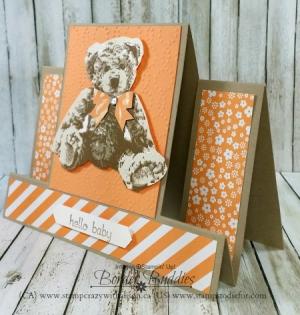 Baby Bear Stamp Set step card 2 www.stampcrazywithalison.ca