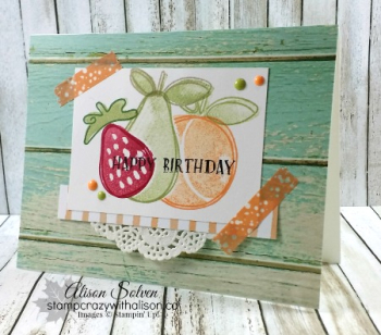 Fresh fruit stamp set 4 www.stampcrazywithalison.ca