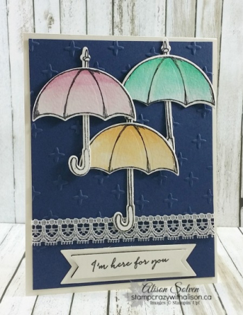 Weather together sparkle embossing folder  stamp set www.stampcrazywithalison.ca