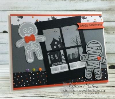 Cookie Cutter Halloween www.stampcrazywithalison.ca