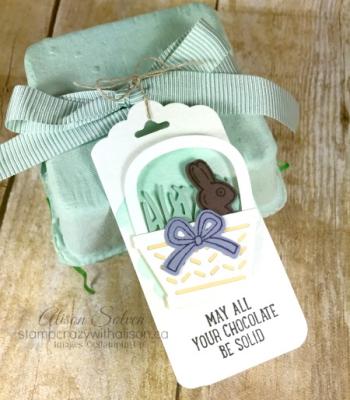 Mini Egg Carton 2 www.stampcrazywithalison.ca
