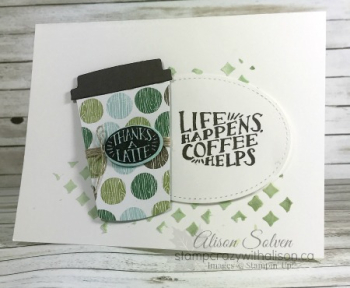 Just in Case Coffee Cafe Stamp Set 5 www.stampcrazywithalison.ca