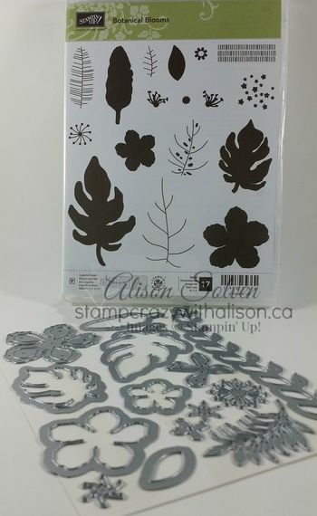 Botanical Blooms Stamp Set Picture