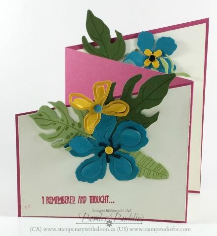 Botanical Blooms Botanical Builder Framelits DIes Botanical Gardens Designer Series Paper www.stampcrazywithalison.ca