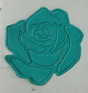 Rose garden thinlits dies stained glass stampin' up! www.stampcrazywithalison.ca