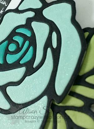 Rose Garden Thinlits Dies Rose Wonder Stamp Set www.stampcrazywithalison.ca