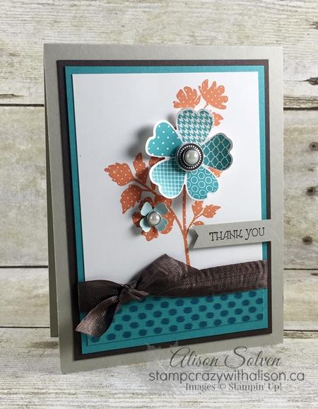 Color Your World Blog Hop Gifts of Kindness & Flower Shop Stamp Sets #stampinup 2