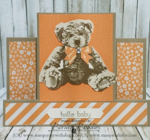 Baby Bear Stamp Set step card 3  www.stampcrazywithalison.ca