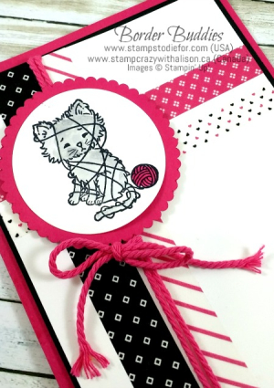 Pretty Kitty 3 #stampinup www.stampcrazywithalison.ca