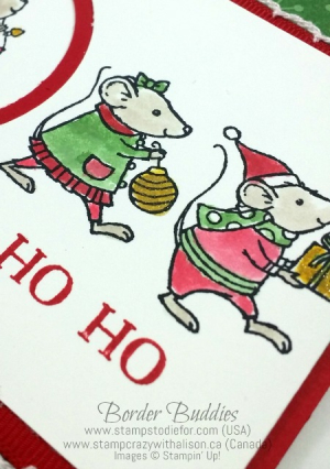 Merry Mice HO HO HO 3 www.stampcrazywithalison.ca