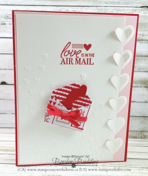 Love Notes Framelits Dies www.stampcrazywithalison.ca