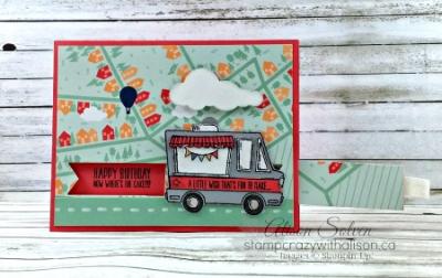Tasty Truck Stamp Set Slider Card 4 www.stampcrazywithalison.ca