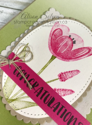 Tranquil Tulips Blog Hop 3 www.stampcrazywithalison.ca
