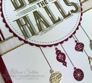 Carols of Christmas Card Swap Sunday 3 www.stampcrazywithalison.ca