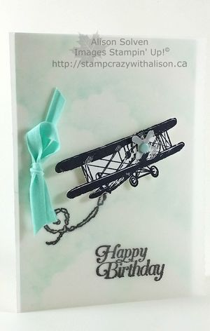 Sky is the limit saleabration stampin' up! httpstampcrazywithalison.ca