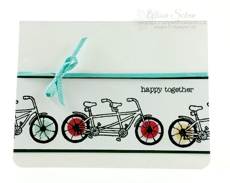 Pedal pusher stamp set free sale-a-bration www.stampcrazywithalison.ca