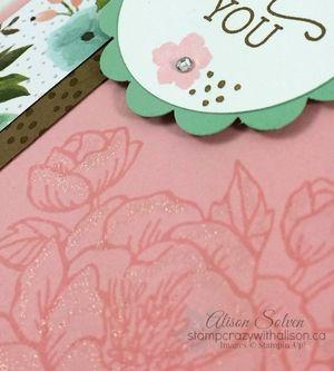 Birthday Blooms Stamp Set WInk of Stella Glitter Brush closeup www.stampcrazywithalison.ca
