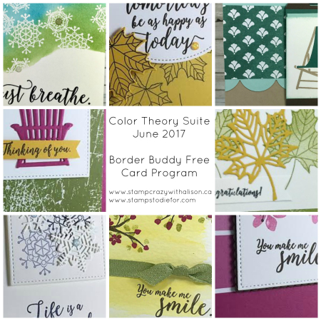 Color Theory Suite Collage BB June 2017 www.stampcrazywithalison.ca
