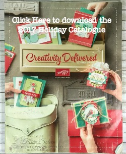 2017 Holiday Catalogue  www.stampcrazywithalison.ca