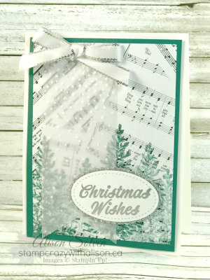 Watercolor Christmas Stamp Set 3 www.stampcrazywithalison.ca