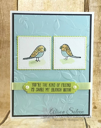 Bird Banter Stamp Set 2 www.stampcrazywithalison.ca