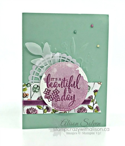 Card Swap Sunday Share What You Love Suite 4 www.stampcrazywithalison.ca