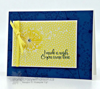 Dandelion Wishes Embossed 1 www.stampcrazywithalison.ca