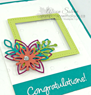 Happiness Surrounds Snowflake Showcase Promotion www.stampcrazywithalison.ca