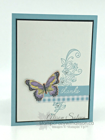 Card Swap Sunday - Botanical Butterfly SAB www.stampcrazywithalison.ca-2