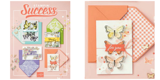 Stampin' Success Collage