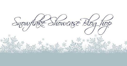 Snowflake Showcase Blog Hop Banner