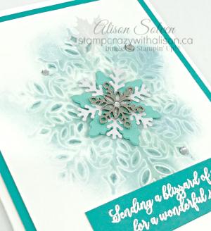 Snow is Glistening Stamp Set Embossed Snowflake LG www.stampcrazywithalison.ca-2
