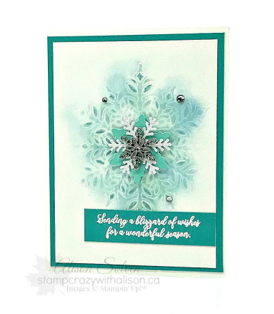 Snow is Glistening Stamp Set Embossed Snowflake LG www.stampcrazywithalison.ca-3