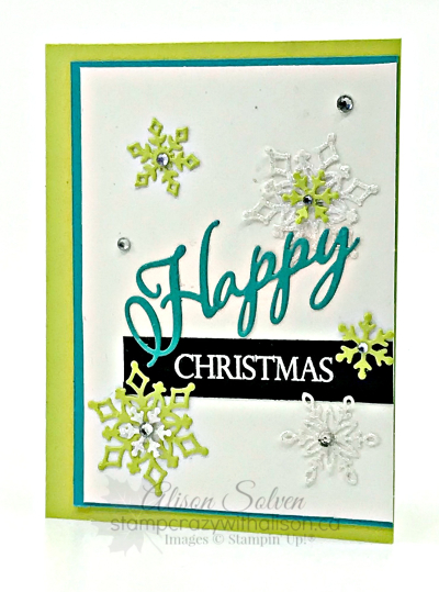 Just in Case Snowflake Showcase All is Bright Suite www.stampcrazywithalison ca
