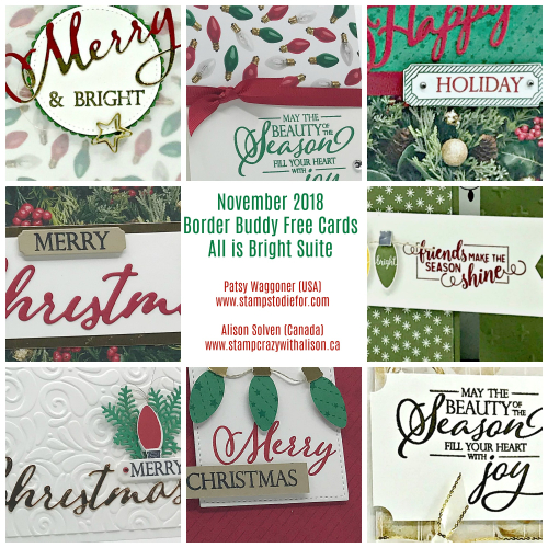 BB November 2018 All is Bright Suite Collage