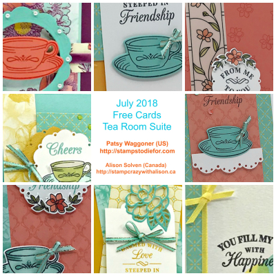 Tea Room Suite July 2018 BB Collage www.stampcrazywithalison.ca