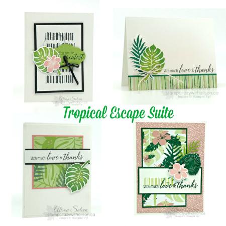Tropical Escape Suite Collage