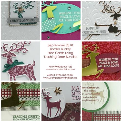 BB Dashing Deer Collage