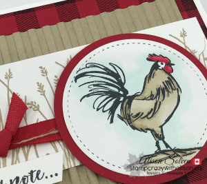 Card swap Sunday home to roost www.stampcrazywithalison.ca-4