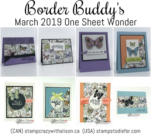 One Sheet Wonder Piece D Botanical Butterfly Stampin Up1-tile