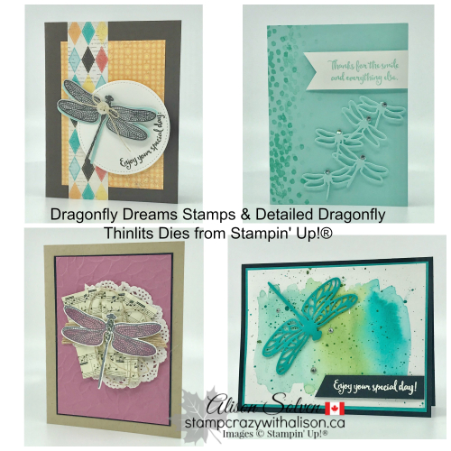 Dragonfly Dreams Collage