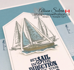 Come Sail Away Suite Catalogue Launch www.stampcrazywithalison.ca