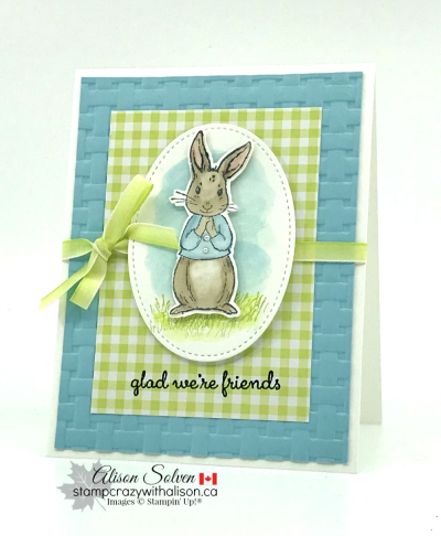 Fable Friends Stamp Set www.stampcrazywithalison.ca