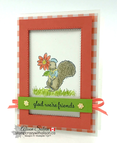 Just in Case Fable Friends www.stampcrazywithalison.ca